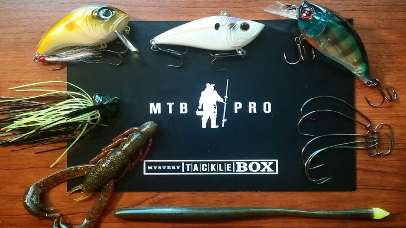 Mystery tackle box pro september 2015 js outdoors for Fishing mystery box