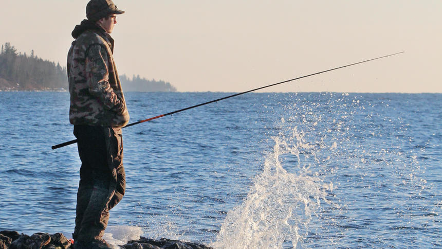 Fishing on Lake Superior's North Shore for Trout and Salmon